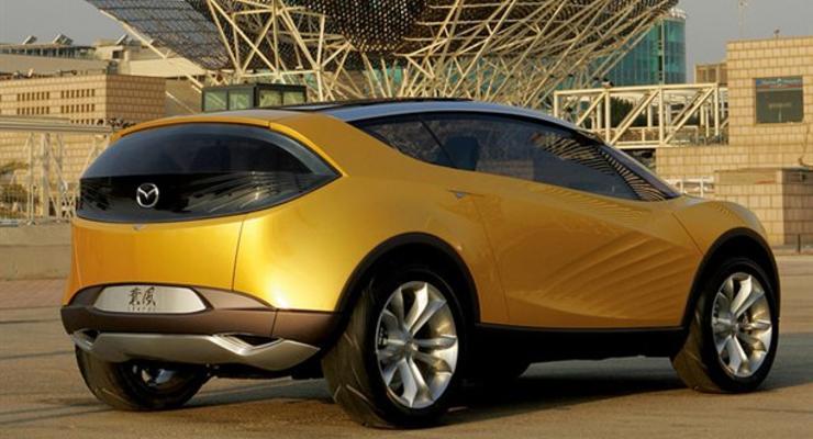 Mazda разрабатывает компактный внедорожник