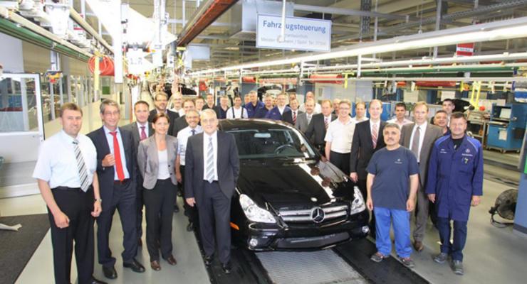 Последний Mercedes-Benz CLS сошел с конвейера