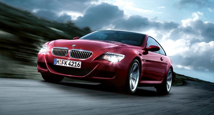 BMW остановил производство M6