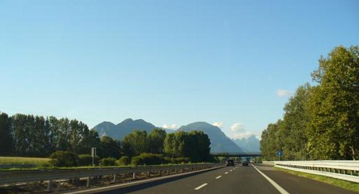 В Италии теперь можно ездить со скоростью 150 км/ч