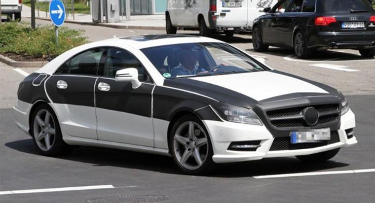 Замечен новый Mercedes-Benz CLS