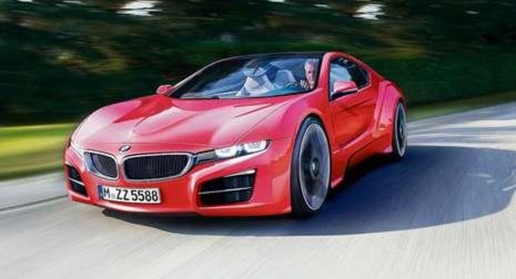 BMW готовит гибридный спорткар i100 Coupe ActiveHybrid