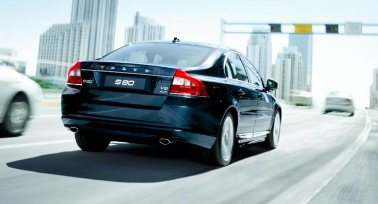 Volvo отзывает седаны S80