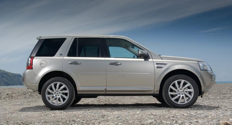 Фотогалерея: Land Rover Freelander 2011 года