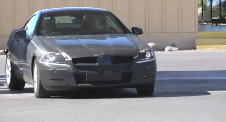 Новые Mercedes-Benz SLK и CLS попались на камеру
