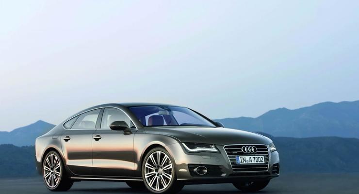 Audi представила A7 Sportback в Мюнхене