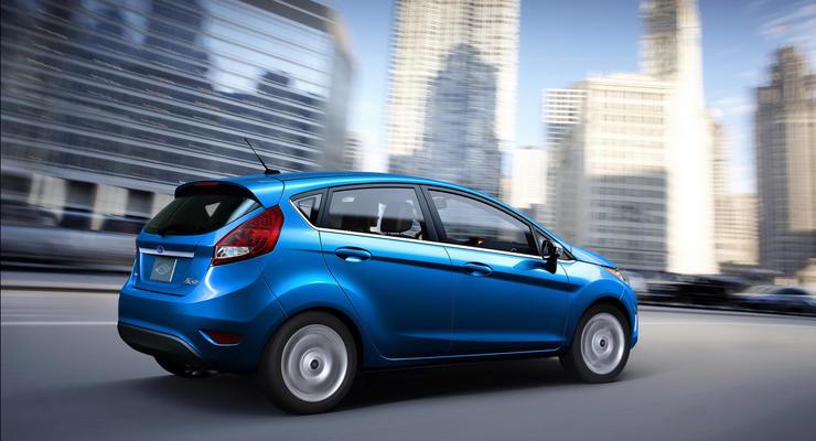 Семейство Ford Fiesta обновится к 2012 году