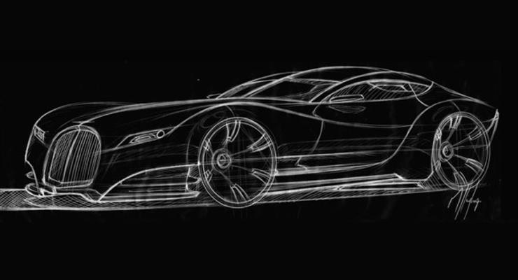Первая иллюстрация спортивного купе Morgan Eva GT