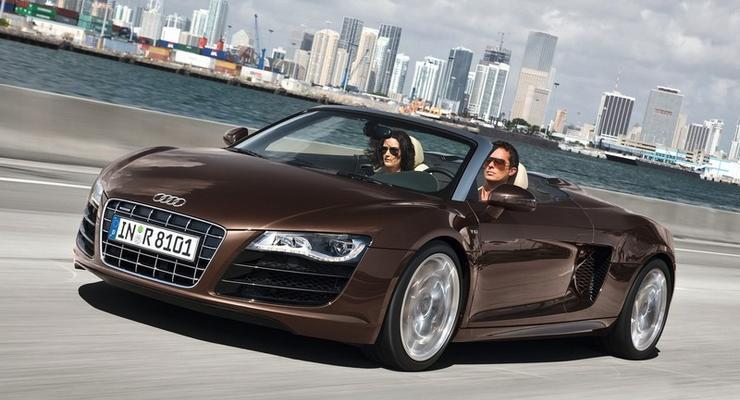 Audi представила новую версию кабриолета R8 Spyder