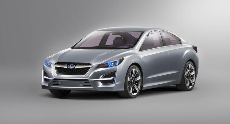 Планы Subaru: новое купе и гибридный Legacy