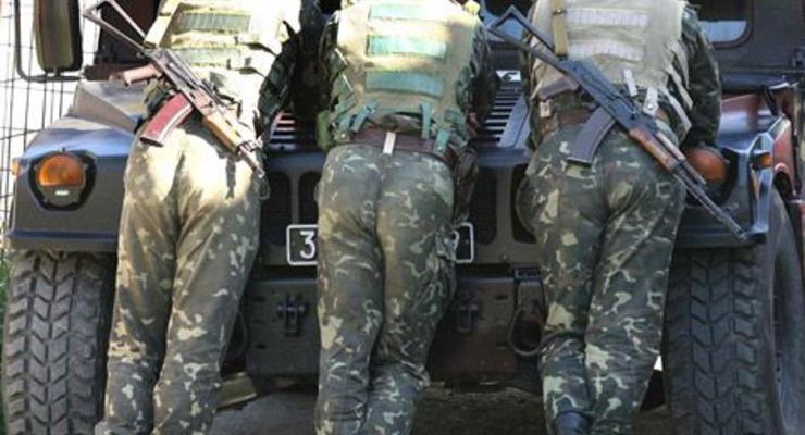 Военные подстрелили киевского автомобилиста