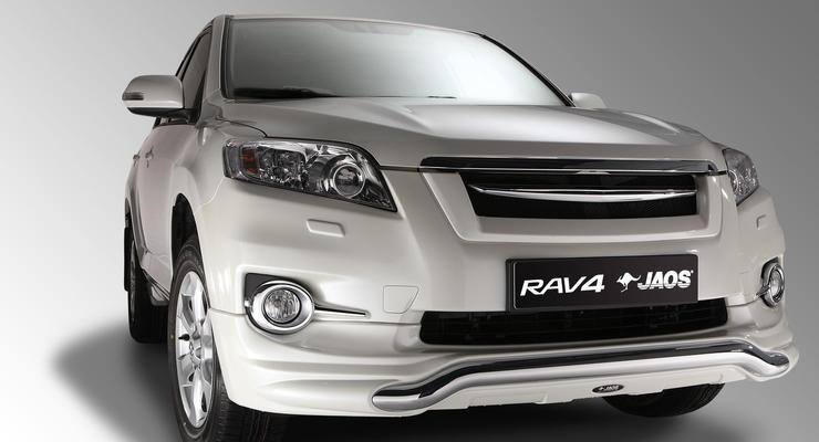 В Украину привезли эксклюзивный Toyota RAV4