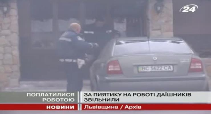 Уволены гаишники, которые напились на работе и сели за руль