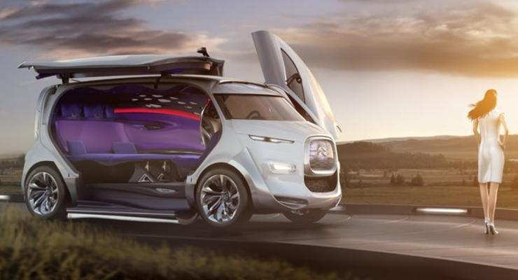 Citroen показал минивэн с салоном, как в лимузине