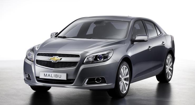 Новый бизнес-седан Chevrolet выходит на рынок
