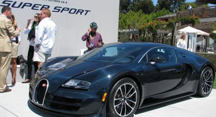В США состоялся дебют самой мощной версии Bugatti Veyron