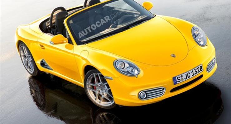 Porsche готовит новый спорткар на место Boxster