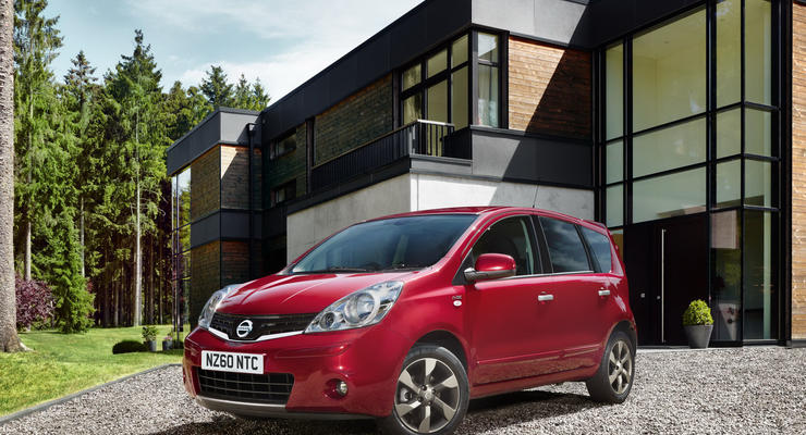 Nissan обновил хэтчбек Note в Европе