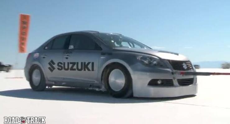 Suzuki Kizashi побил мировой рекорд скорости
