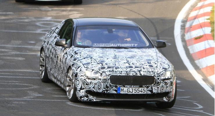 Шпионские фотографии BMW M6 2012 года