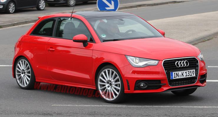 Audi S1 проходит последние тесты перед премьерой