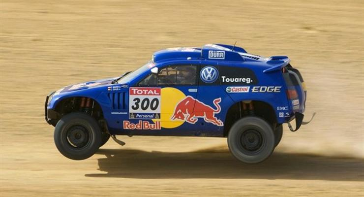 Volkswagen представил внедорожник для ралли «Дакар-2011»