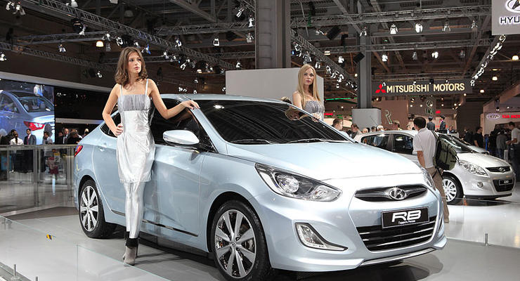 Московский автосалон: Hyundai RB - новый «бюджетник»  для России