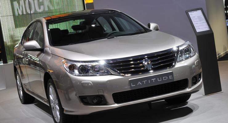 Московский автосалон: Renault Latitude - кореец «от кутюр»