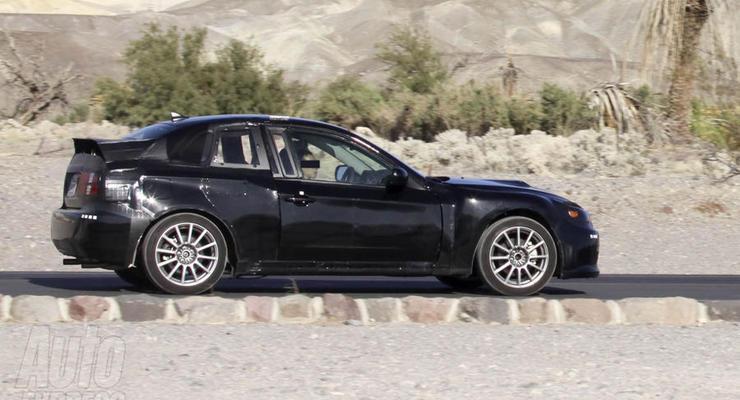 Subaru начала испытания нового спортивного купе
