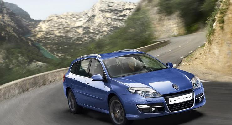 Renault показал обновленную Laguna