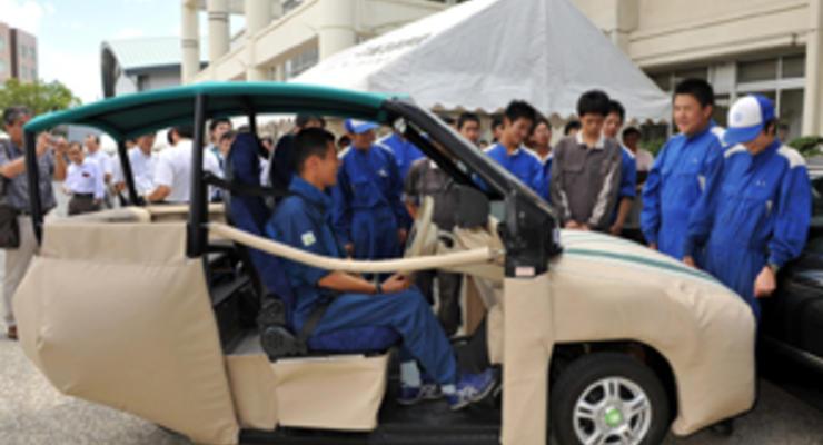 Японцы придумали подушку безопасности для пешеходов