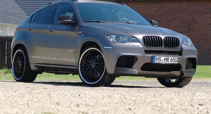 Немцы сделали сверхмощный внедорожник BMW еще сильнее