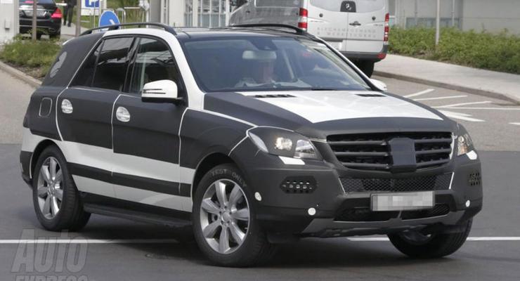 Mercedes-Benz сделает внедорожник ML меньше и легче