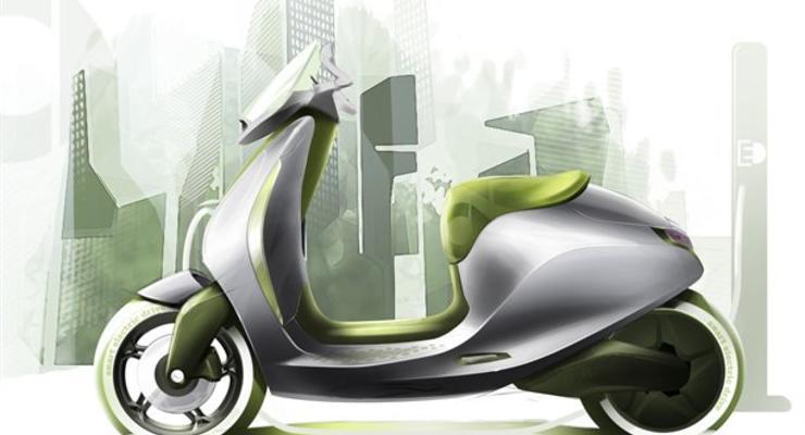 В Париже покажут скутеры с электромоторами