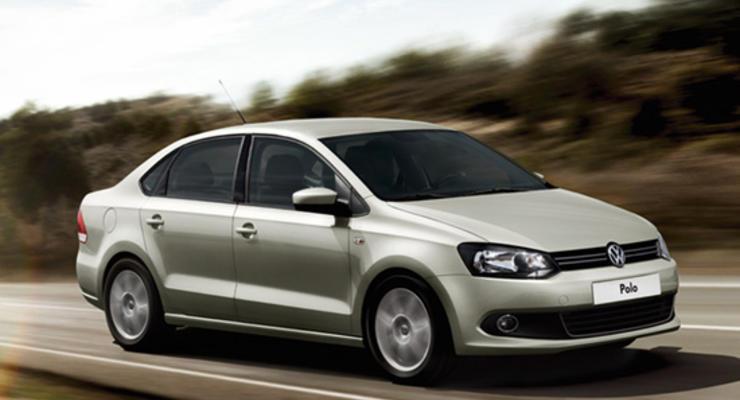 Российский седан Volkswagen Polo появился в продаже