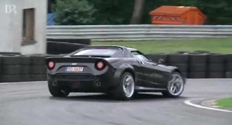 Возрожденный спорткар Lancia Stratos вышел на трек