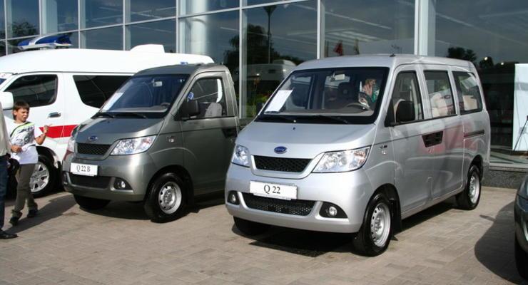 В Украине появились коммерческие автомобили Chery
