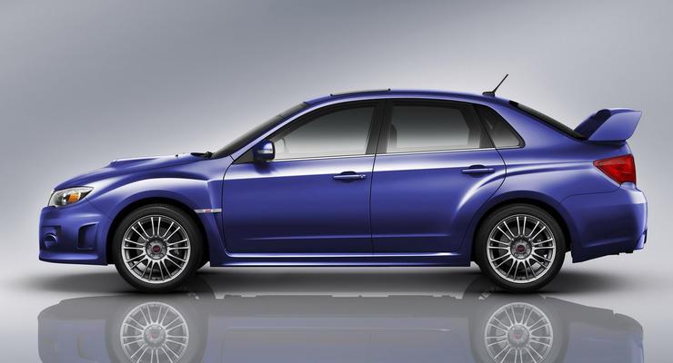 Новая Subaru Impreza WRX STi скоро появится в Украине