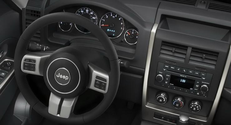 У Jeep Cherokee обновился интерьер