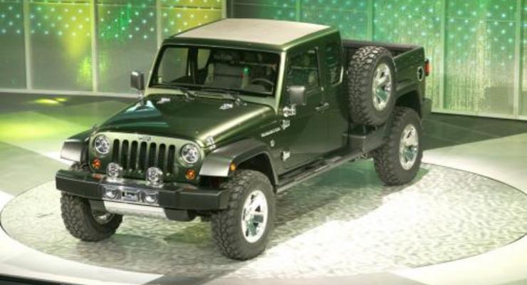 Jeep готовит новый пикап