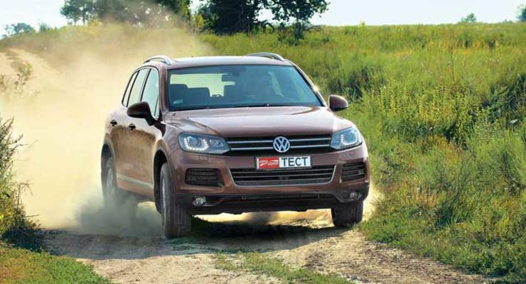VW Touareg: В чем сила, брат?