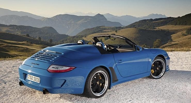 Новый Porsche Speedster - эксклюзивный 911-ый