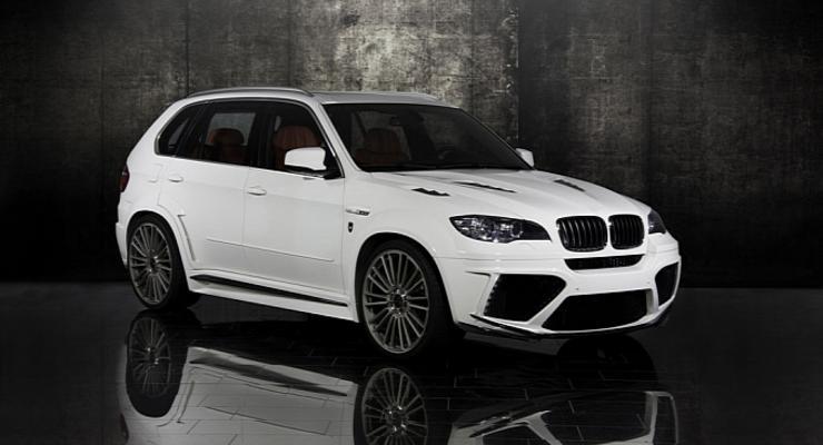 BMW X5 M получил новый бодикит от ателье Mansory