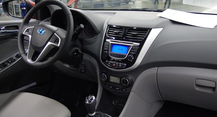 Новый седан Hyundai Solaris: взгляд изнутри
