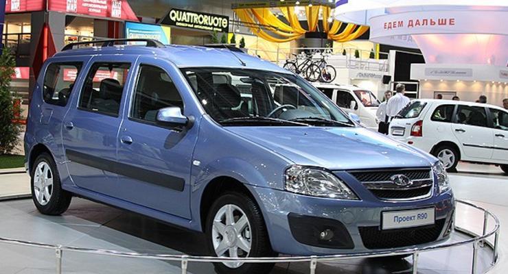 Lada R90 заменит универсал Logan в Украине