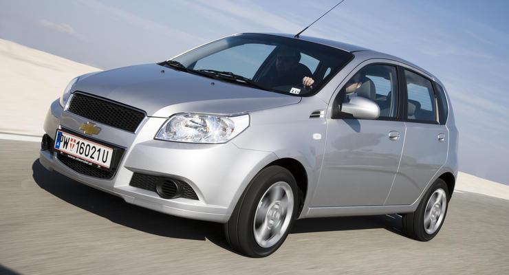 В продаже появился пятидверный Chevrolet Aveo 2011 года
