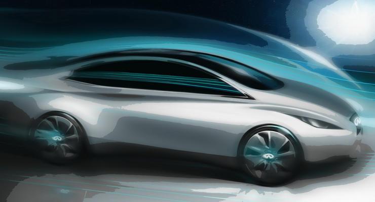 Первый электромобиль Infiniti выйдет через три года