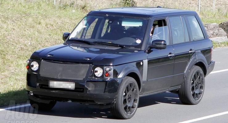 Land Rover тестирует новое поколение Range Rover