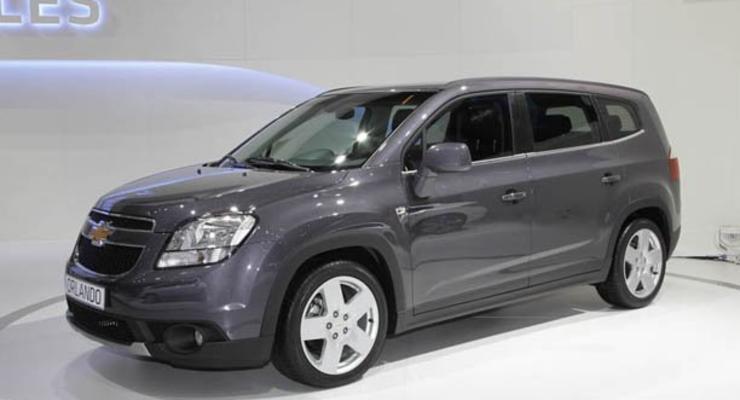 Парижский автосалон: минивэн Chevrolet Orlando готовится к продажам