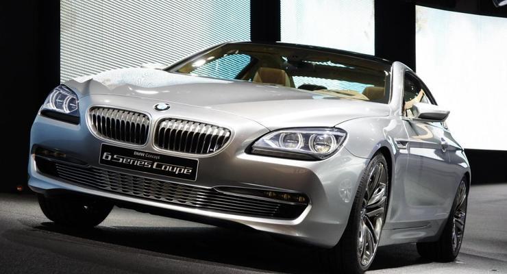Парижский автосалон: новое поколение BMW 6-Series